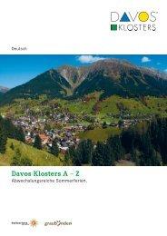 Von den Gletschern zu den Palmen - Davos