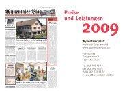 Preise und Leistungen - Druckerei Baumann AG