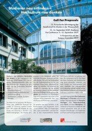 Call for Proposals für die 12. GMW-Tagung