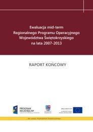 Ewaluacja mid-term Regionalnego Programu Operacyjnego ...