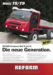 Flugblatt Muli T8/T9 - Reform