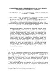 Seasonal variations of litter fall and MODIS NDVI in a transitional ...