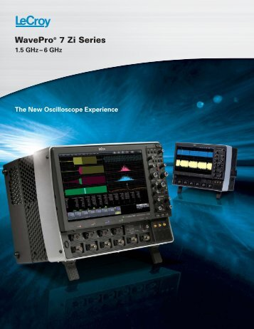 LeCroy WavePro 7 Zi Series Datasheet