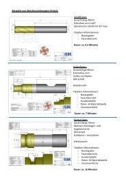 Beispiele von Sketcherzeichnungen (Fräser ... - ISBE GmbH