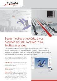 Soyez mobiles et accédez à vos données de CAO TopSolid 7 via ...