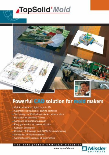 Powerful CAD solution for mold makers - TopSolid