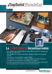La CFAO tôlerie incontournable - TopSolid