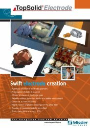 Swift electrode creation - TopSolid