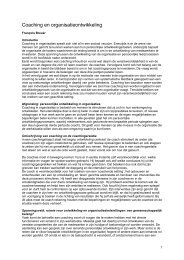 Read this article in pdf format (Dutch) - François Breuer