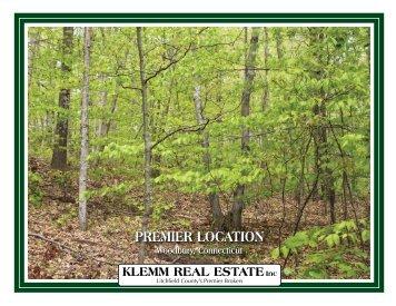 pREMIER LocATIon pREMIER LocATIon - Klemm Real Estate, Inc.