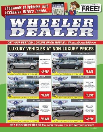 Wheeler Dealer 25-2015