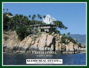 Read the brochure... - Klemm Real Estate, Inc.