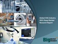 Global IVIG Industry 2015 Deep Market Research Report