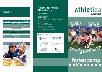feriencamp - athletica Düsseldorf