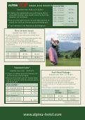 Price List Summer season 2012 - Hotel Alpina in Bad Hofgastein - Page 3