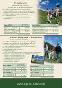 Price List Summer season 2012 - Hotel Alpina in Bad Hofgastein - Page 4