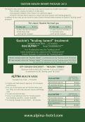 Price List Summer season 2012 - Hotel Alpina in Bad Hofgastein - Page 5