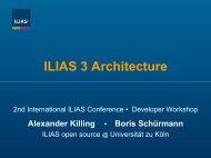 Kein Folientitel - ILIAS Conference