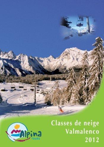 Classes de neige Valmalenco 2012 - Alpina