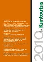 Lataa lehden 3/2010 pdf-versio tästä - Kuntoutussäätiö