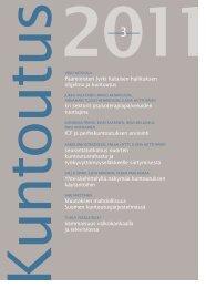 Lataa lehden 3/2011 pdf-versio tästä - Kuntoutussäätiö