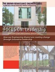 Industry Newsletter - School of Engineering - Brown University