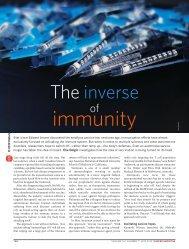 The inverse of immunity - Elie Dolgin