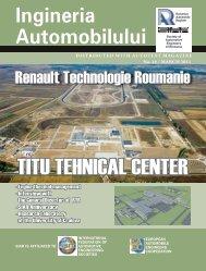 TITU TEhnICAL CEnTER - ingineria-automobilului.ro