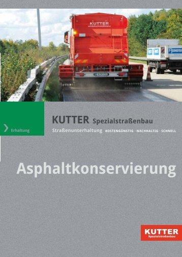 Asphaltkonservierung mit Rhinophalt - KUTTER Spezialstraßenbau ...