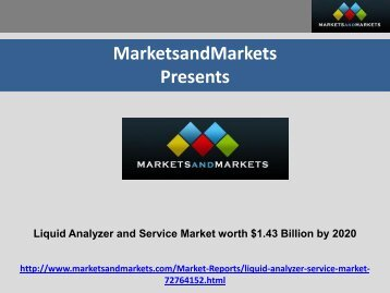 Liquid Analyzer and Service Market by Type