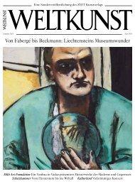 WELTKUNST Sonderausgabe: Liechtensteins Museumswunder