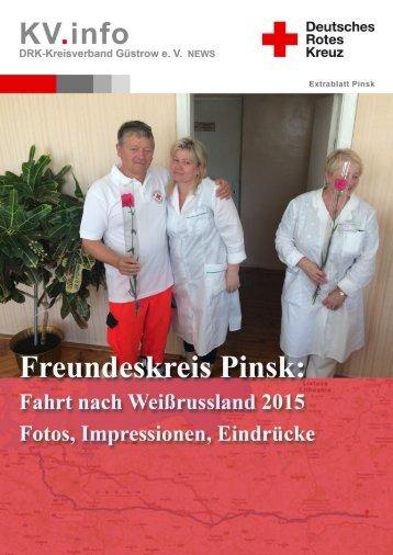 Extrablatt Freundeskreis Pinsk: Fahrt nach Weißrussland 2015