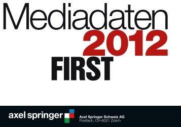 Axel Springer Schweiz AG Postfach, CH-8021 Zürich