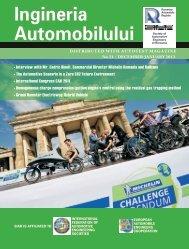 Ingineria Automobilului Society of - ingineria-automobilului.ro