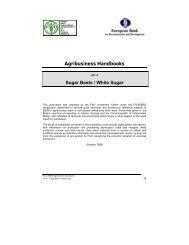 Agribusiness Handbooks, vol. 4: Sugar Beets/White Sugar