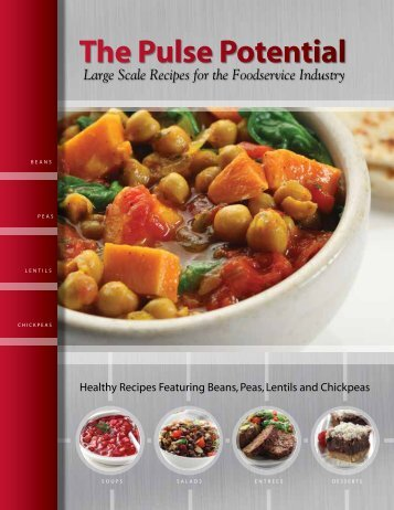 Large Scale Recipe Manual - Pulse Canada