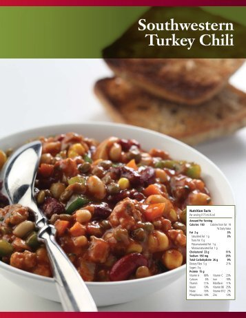 Southwestern Turkey Chili - Pulse Canada