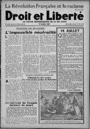 'La Révolution Française .et le racisme' - Archives du MRAP