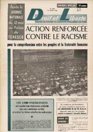 ACTION RENFORCEE CONTRE LE RACISME - Archives du MRAP