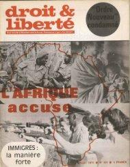 liberté - Archives du MRAP