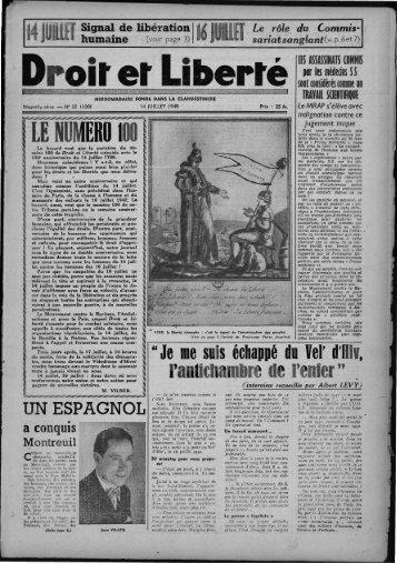 """""""LE NUMERO 00 - Archives du MRAP"""