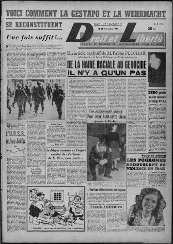 """VOl ,l ' MMENT """"LA GESTAPO LA WEBB ACBT - Archives du MRAP"""