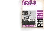 Revue mensuelle du Mouvement contre le Racisme, l'Antisémitisme ...