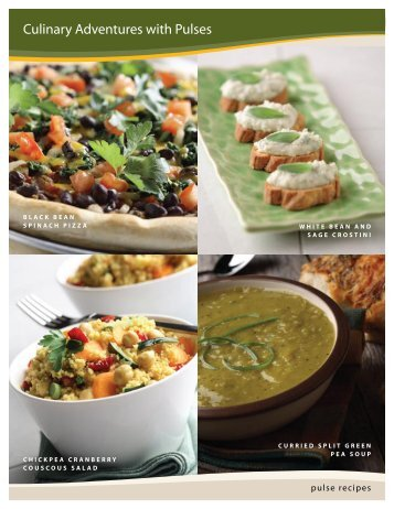 Culinary Adventures with Pulses - Pulse Canada