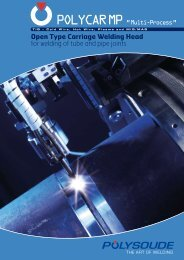 Open Type Carriage Welding Head for welding of tube ... - Polysoude