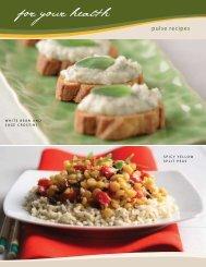White Bean Crostini / Spicy Split Peas - Pulse Canada