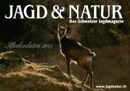 Mediadaten 2013 - Jagd & Natur