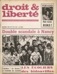 Double scandale à Nancy - Archives du MRAP