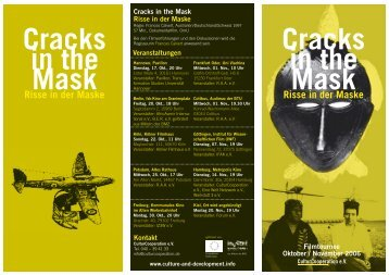 Cracks in the Mask Cracks in the Mask - Culture and Development