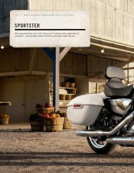 SPORTSTER® - Jersey Harley-Davidson